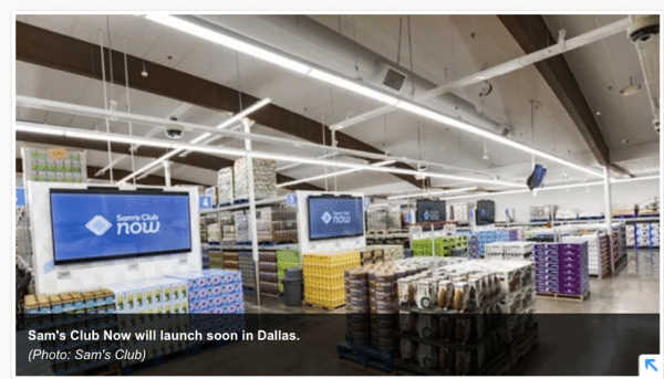 Reduced Shopper Friction with a bit of Added Fun- Sam's Club