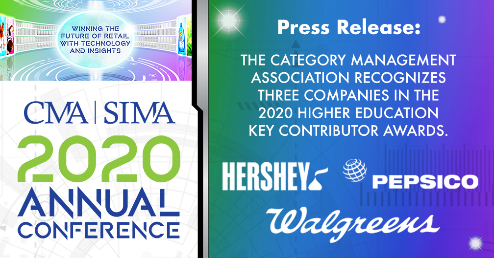 The CMA Recognizes Three Companies In The 2020 Higher Education Key Contributor Awards.