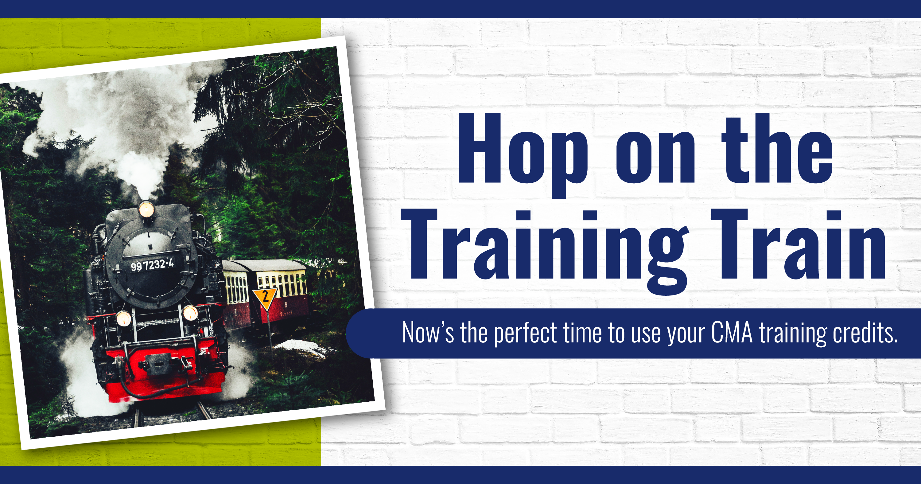 Hop on the Training Train